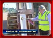 TV10: Intumescent Card for Fire Prevention